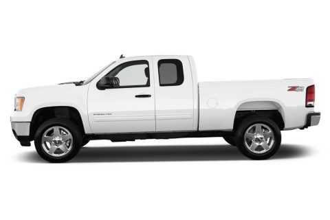The truck stolen is similar to the one in this photo according to Clarksville Police.