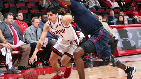 Austin Peay State University Men's Basketball hits the road to take on the undefeated Arizona Razorbacks, Tuesday. (Robert Smith, APSU Sports Information)