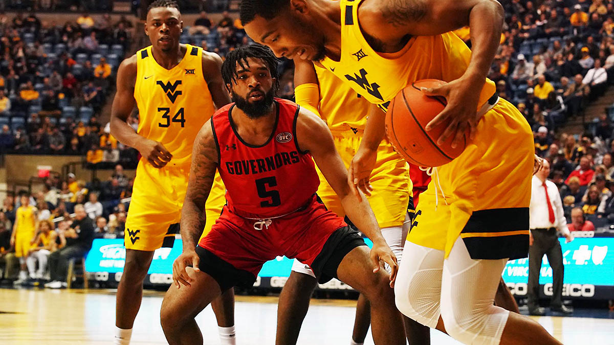 Austin Peay State University Men's Basketball unable to get on track at West Virginia, Thursday night. (APSU Sports Information)