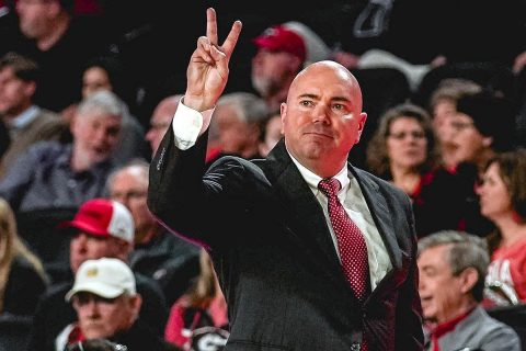 Austin Peay State University Men's Basketball starts slow in 78-48 loss to Georgia, Monday night. (APSU Sports Information)