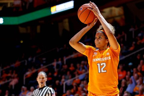 Tennessee Women's Basketball was red hot Saturday night hotting 51.4 percent from the floor to drop Portland State, 88-61. (UT Athletics)