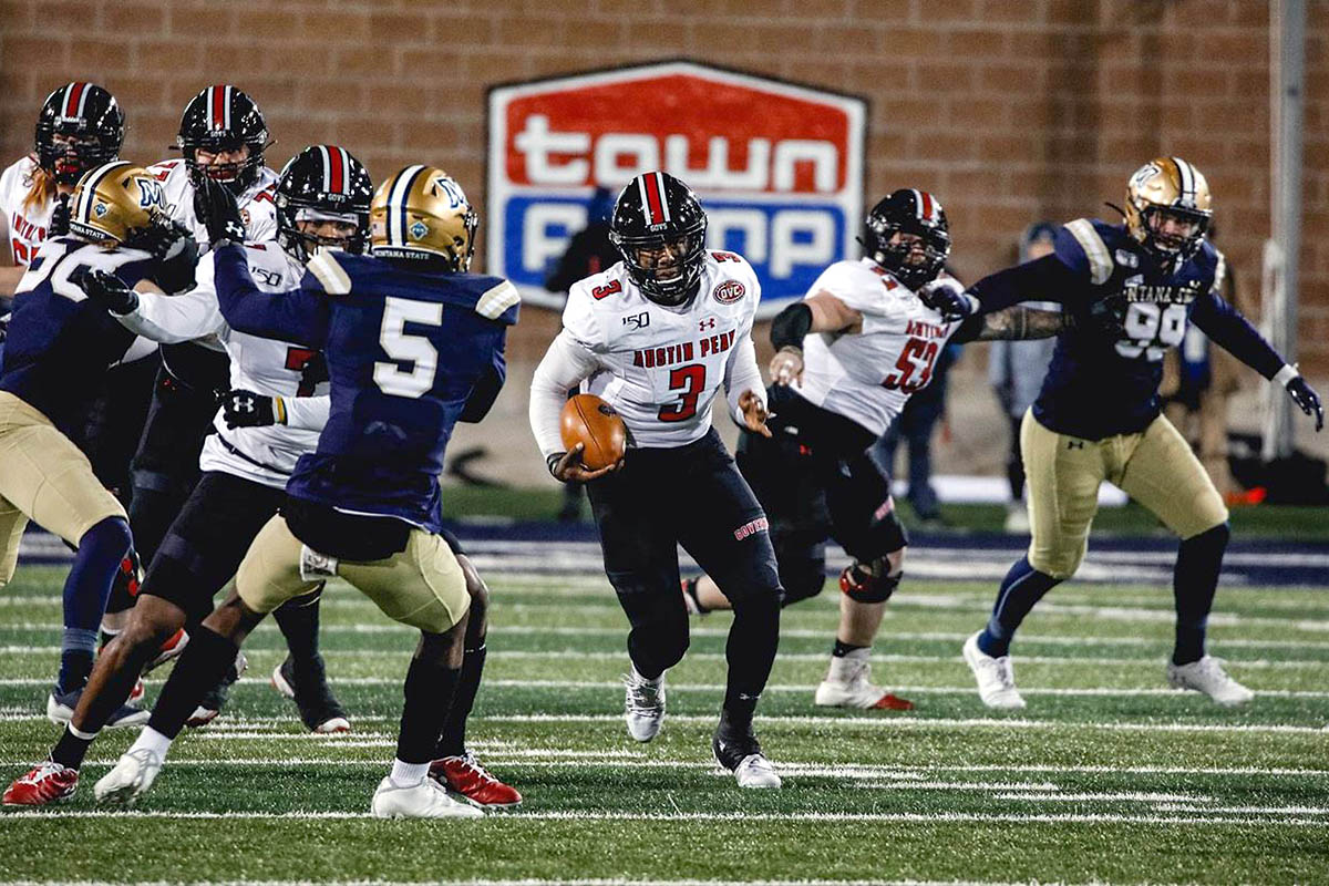Austin Peay State University Football had their season come to an end Friday night against Montana State in the National Quarterfinals. (APSU Sports Information)