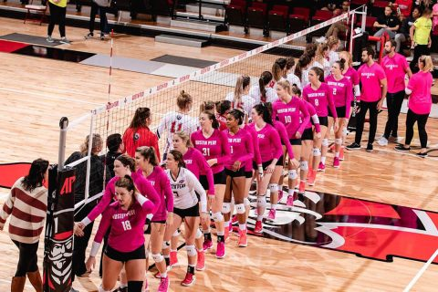 Austin Peay State University Women's Volleyball has been names OVC Team Sportsmanship Award winner. (APSU Sports Information)