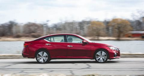 The 2019 Nissan Altima SL 4S that was stolen is similar to the one in this photo according to Clarksville Police.