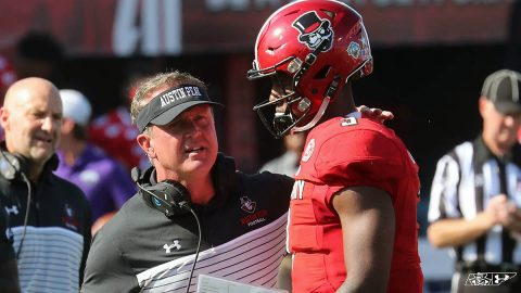 Austin Peay State University and Football head coach Mark Hudspeth agree to four year contract extension. (APSU Sports Information)