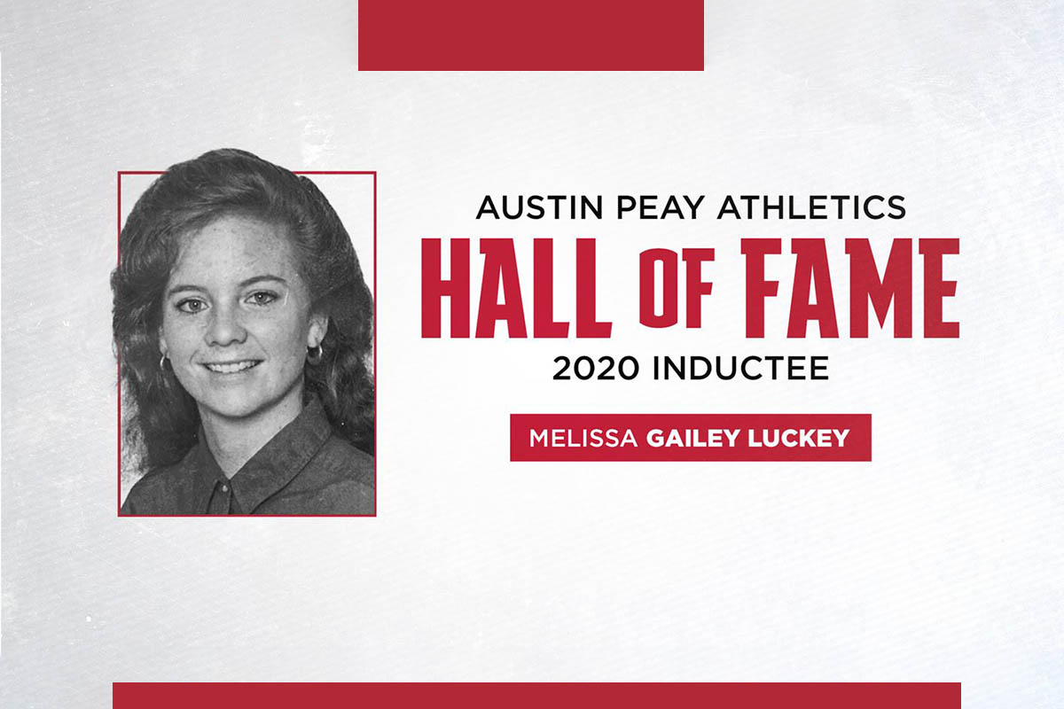 Austin Peay State University 2020 Athletics Hall of Fame inductee Melissa Gailey-Luckey. (APSU Sports Information)