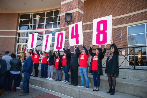 Austin Peay State University's enrolled more than 11,000 students this fall. (APSU)