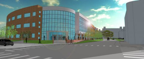 A rendering of the the proposed Austin Peay State University Health Professions Building. (APSU)
