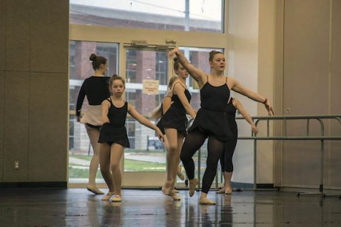 One of many Community School of the Arts (CSA) at Austin Peay State University dance classes. (APSU)