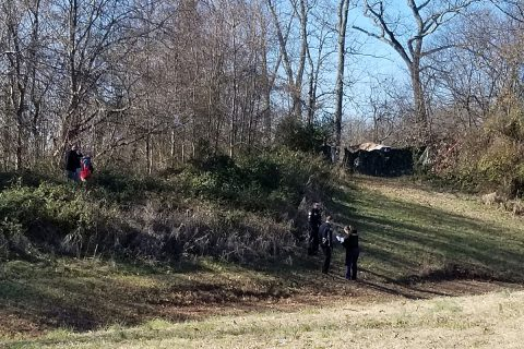 Clarksville Police are investigating area where a deceased man was found.