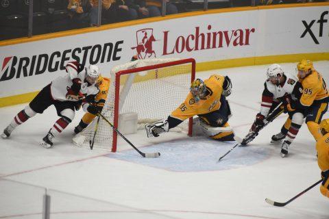 Nashville Predators defeat the Arizona Coyotes 3-2 (Michael Strasinger)