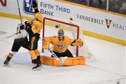Nashville Predators fall to Tampa Bay 3-2 (Michael Strasinger)