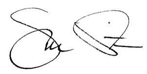 Joe Pitts Signature