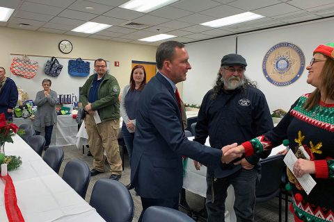 Montgomery County Sheriff's Office's Hairy Holidays Fundraiser raises $11,875 for Mana Cafe, Soldiers and Families Embraced (SAFE), Angel Fund, Urban Ministries,  and YAIPaks and St. Jude Children's Research Hospital.