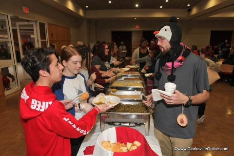 Radical Mission Compassionate Ministries held its annual Warm Souls event at APSU's Morgan Center.