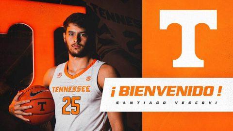 Tennessee Men's Basketball to add Santiago Vescovi Midseason. (UT Athletics)