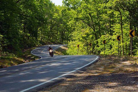 Scenic Highway 19 Ozark Hellbender (Motorcycle the Ozarks)