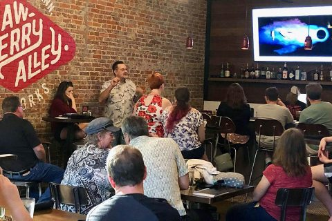 "Austin Peay State University's ""Science on Tap"" returns to Strawberry Alley Ale works, December 3rd. (APSU)"