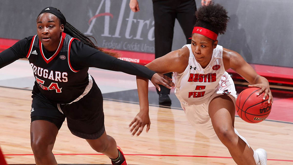 Austin Peay State University Women's Basketball takes on Eastern Illinois at the Dunn Center, Saturday. (APSU Sports Information)