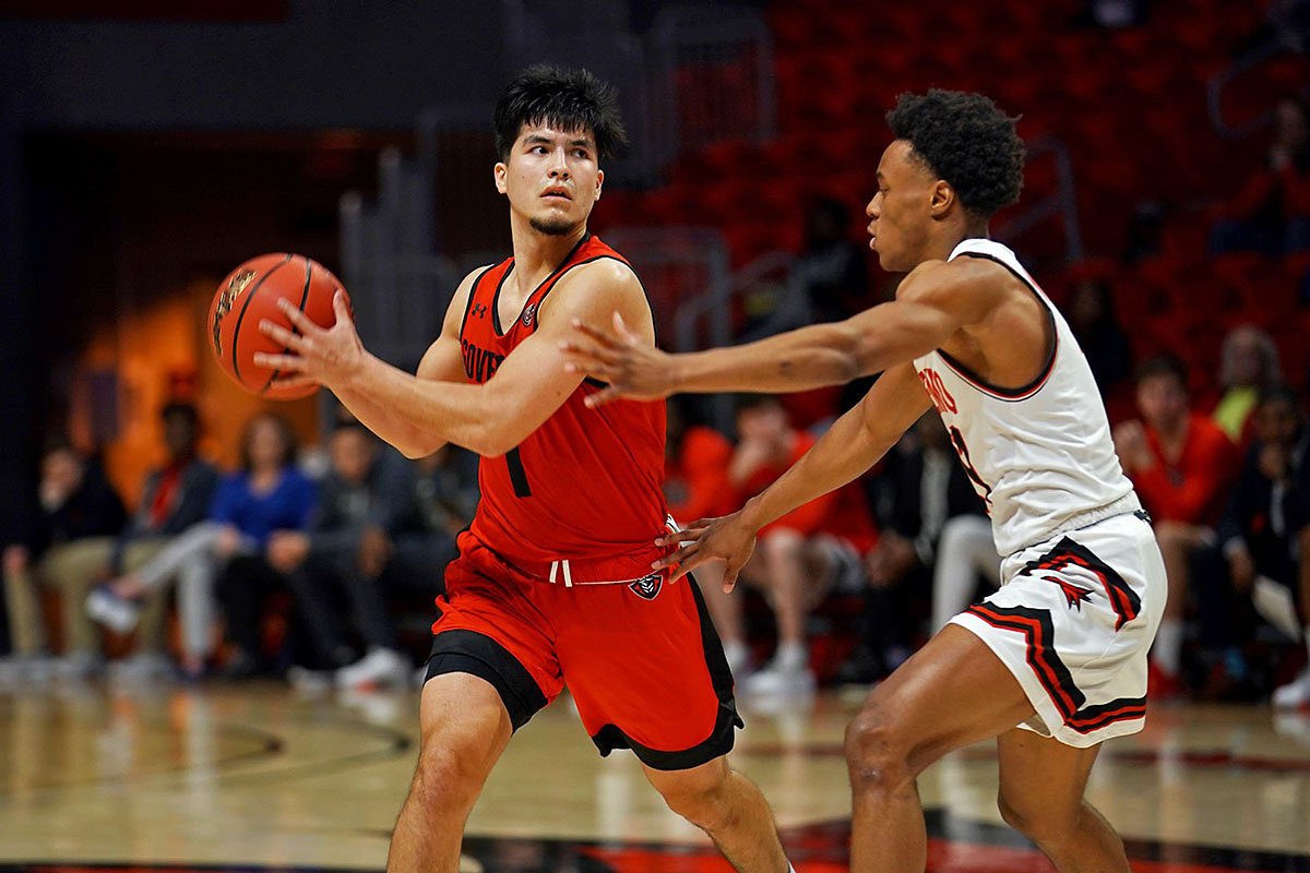 Austin Peay State University Men's Basketball freshman Carlos Paez had 15 points and a career high 8 assists against Southeast Missouri, Thursday night. (APSU Sports Information)