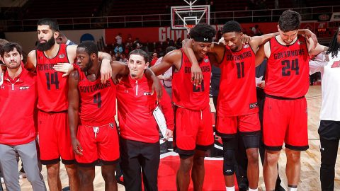 CollegeInsider.com Mid-Major Top-25 poll ranks Austin Peay State University Men's Basketball No. 21. (APSU Sports Information)