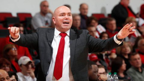 Austin Peay State University Men's Basketball beats SIU Edwardsville at the Dunn Center for ninth straight win. (APSU Sports Information)