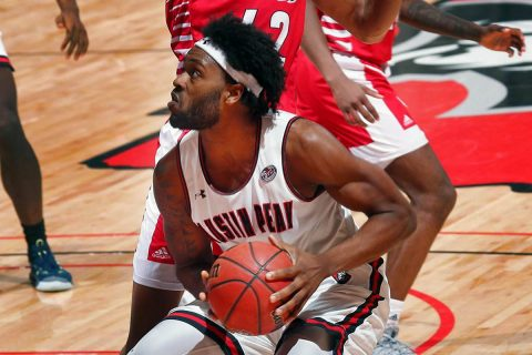 Austin Peay Men's Basketball faces Eastern Illinois Saturday at the Dunn Center. (Robert Smith, APSU Sports Information)