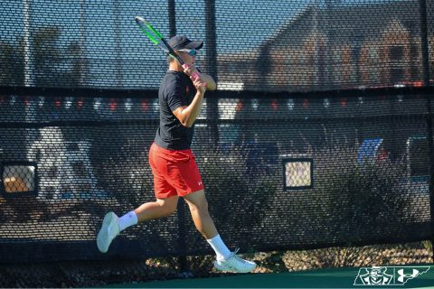 Austin Peay State University Men's Tennis loses to Louisville in straight sets, Saturday. (APSU Sports Information)