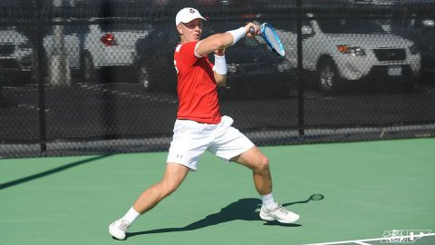 Austin Peay State University Men's Tennis is on the road today to take on the Middle Tennessee Blue Raiders. (APSU Sports Information)