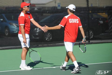 Austin Peay State University Men's Tennis takes on Illinois State at the Governors Tennis Center, Friday. (APSU Sports Information)