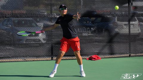 Austin Peay State University Men's Tennis loses 6-1 to Illinois State at home, Friday. (APSU Sports Information)