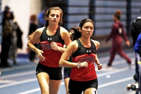 Austin Peay State University Indoor Track and Field team won the Thundering Herd Invitational. It was their first in season championship since 2015. (APSU Sports Information)