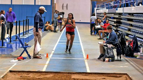 Austin Peay State University Women's Track and Field competed at Ed Temple Invitational, Sunday. (APSU Sports Information)