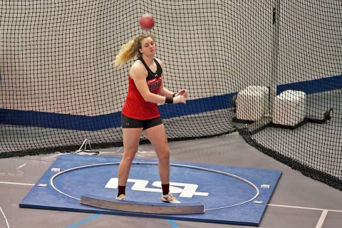 Austin Peay State University Track and Field saw improvements in Birmingham. (APSU Sports Information)