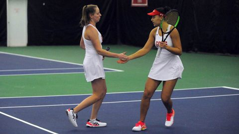Austin Peay State University Women's Tennis will host Western Kentucky Saturday afternoon. (APSU Sports Information)