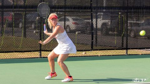 Austin Peay State University Women's Tennis hosts Chattanooga, Monday afternoon. (APSU Sports Information)