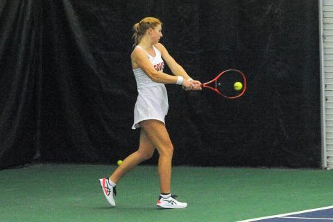 Austin Peay State University Women's Tennis lost to Chattanooga at the Governors Tennis Center, Monday. (APSU Sports Information)
