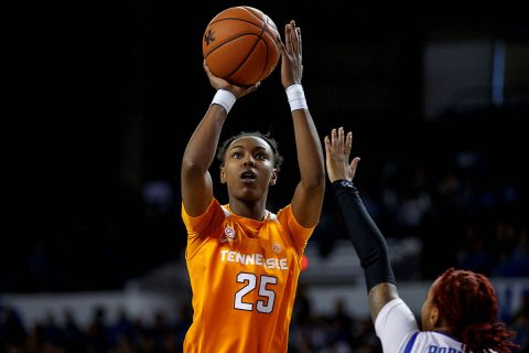 Tennessee Women's Basketball freshman Jordan Horston scored 17 points to lead Lady Vols in win over Ole Miss Thursday night. (UT Athletics)