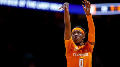 Tennessee Women's Basketball junior Rennia Davis led the Lady Vols with 18 points and 5 rebounds. (UT Athletics)