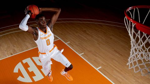 Tennessee Men's Basketball is on the road Tuesday to take on Missouri at Mizsou Arena. (UT Athletics)