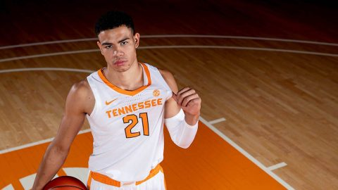 Tennessee Men's Basketball travels to Kansas to take on the Jawhawks at the Allen Fieldhouse, Saturday afternoon. (UT Athletics)