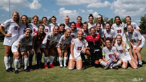 Austin Peay State University Women's Soccer Team. (APSU)