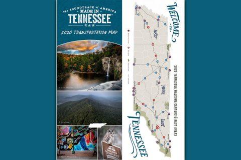 2020 Tennessee Transportation Map