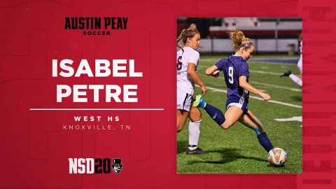 Austin Peay State University Women's Soccer adds Isabel Petre to 2020 roster. (APSU Sports Information)