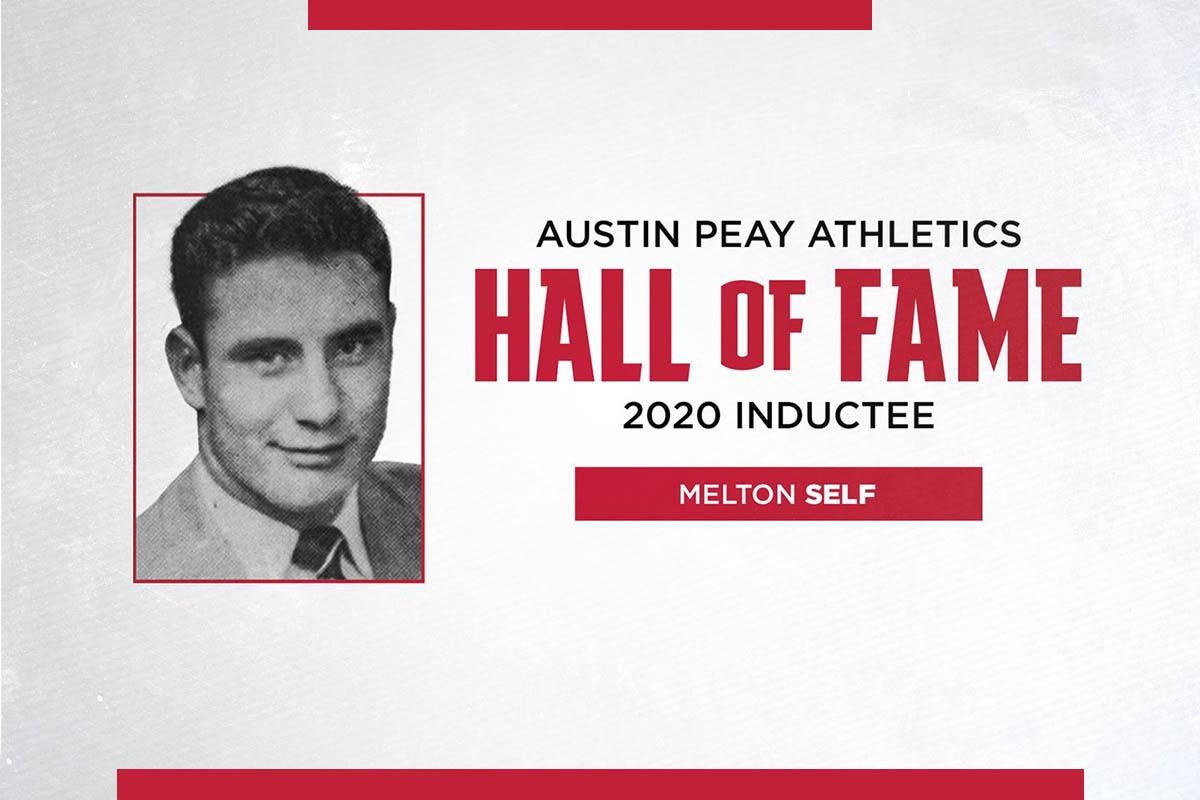 Austin Peay State University 2020 Athletics Hall of Fame inductee Melton Self. (APSU Sports Information)