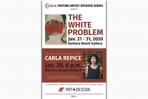 New York-based Artist Carla Repice to exhibit and speak at Austin Peay State University in January. (APSU)