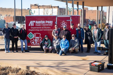 Strawberry Alley teamed up with Austin Peay State University's Physics, Engineering and Astronomy program. (APSU)