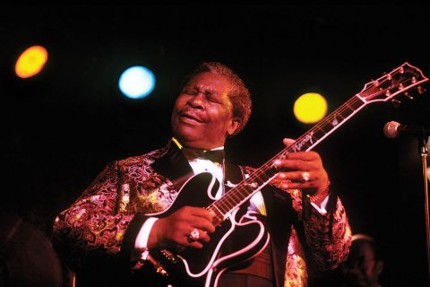 "B. B. King, ""King of the Blues,"" by Murray Lee. (Image courtesy of Tennessee State Photographic Services)"