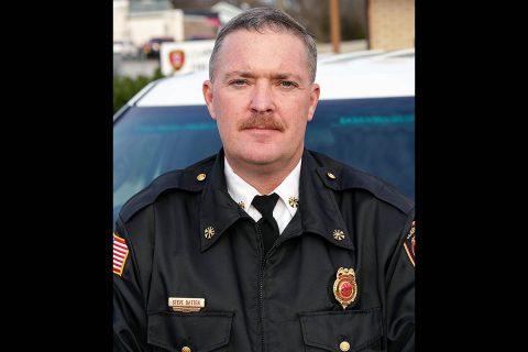 Clarksville Fire Rescue Deputy Fire Chief Steve Batten