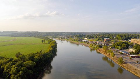 Clarksville-Montgomery County sits along the Cumberland River just 45 minutes from Nashville.